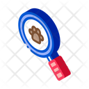 Footprint Search Hunting Icon