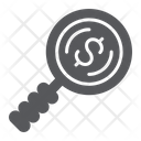 Search for Money Icon