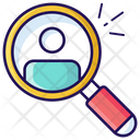 Search Friend Find Friend Search Candidate Icon