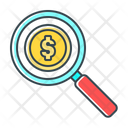 Search Funds Funds Money Icon