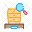 Commode Research Market Icon