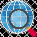 Logistics Delivery Search Icon