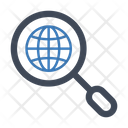Search Global Find Icon