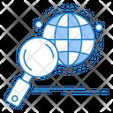 Search Global Global Globe Icon