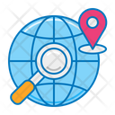 Search Global Location Icon