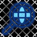 Search Globe Earth Icon