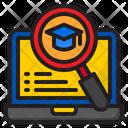 Search Graduation Degree Search Icon