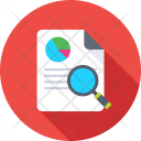 Search Graph Magnifier Icon