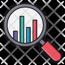 Search Graph Chart Icon