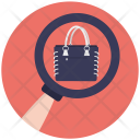Search Handbag Icon