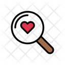 Search Heart Icon