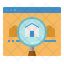 Search Home House Icon