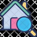 Search Home House Explore Icon