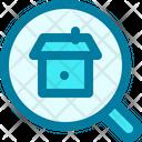 Search Apartment Real Estate Icon