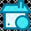 Explore Search Apartment Icon