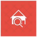 Search Estate House Icon