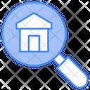 Search Home Property Lense Icon