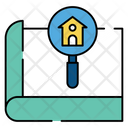 Search Home Find Home Search House Icon