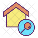 Search Home Location Icon