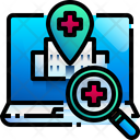 Search Hospital Find Hospital Maps Icon