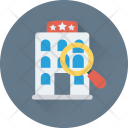 Search Hotel Travel Icon