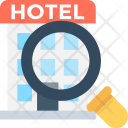 Search Hotel Find Icon