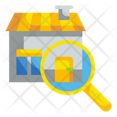 Search House Search Home Find Home Icon
