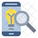 Smartphone Idea Search Icon