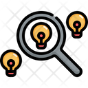 Research Idea Search Icon