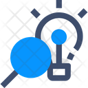 Search Idea Find Idea Search Solution Icon