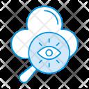 Cloud Server Search Icon