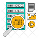 Database Search Technology Icon