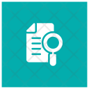 Search In Document Document File Icon