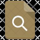 Search File Sheet Icon
