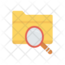 Search Folder Magnifier Icon