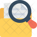 Folder Find Magnifier Icon