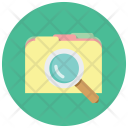 Search Folder Data Icon