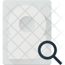 Search In Hdd Icon