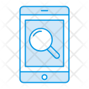 Mobile Search Phone Icon