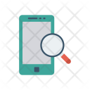 Search Mobile Magnifier Icon