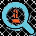 Search Info Statistics Strategy Icon