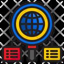 Search World Communication Icon
