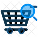 Search Shopping Cart Icon