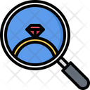 Search Magnifier Ring Icon