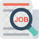 Job Searching Magnifier Icon