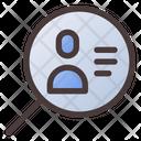 Search Job Search User Employee Icon