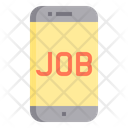 Online Search Job Mobile Search Job In Mobile Search Job Icon