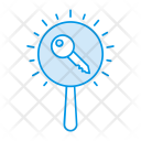 Search Key Magnifier Icon