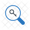 Key Lock Search Icon
