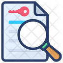 Search Keyword Icon